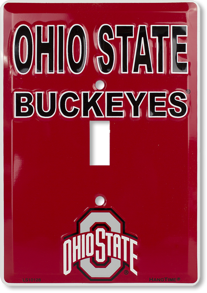 LS10128 - Ohio State Buckeyes Light Switch