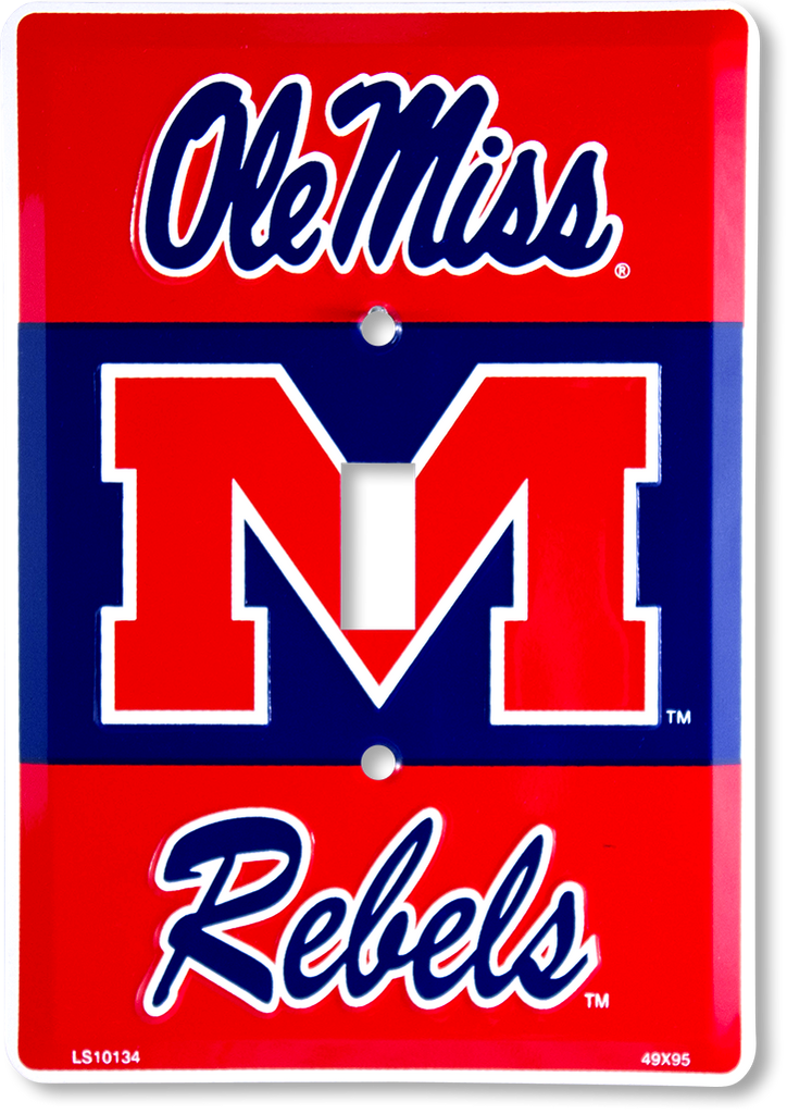 LS10134 - Ole Miss Rebels Light Switch