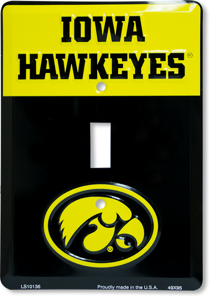 LS10136 - Iowa Hawkeyes Light Switch