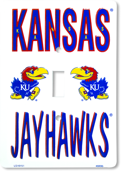 LS10151 - Kansas Jayhawks Light Switch