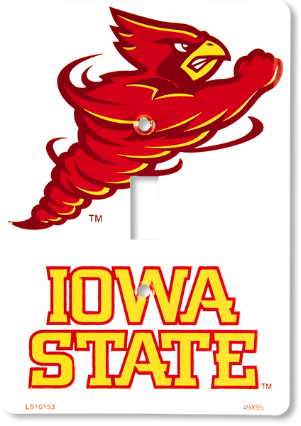 LS10153 - Iowa State Cyclones Light Switch