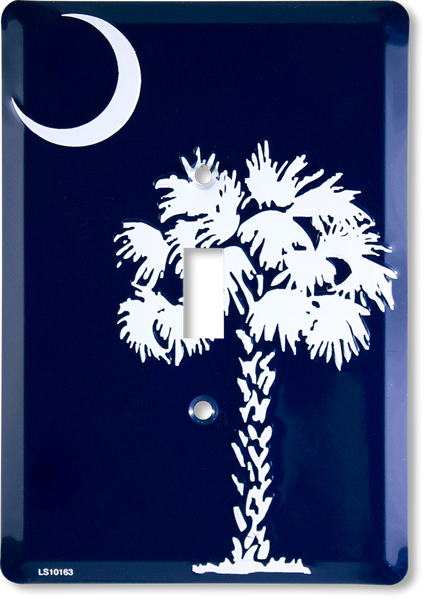 LS10163 - South Carolina Flag Light Switch