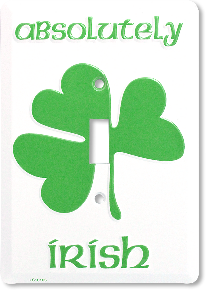 LS10165 - Absolutely Irish Light Switch