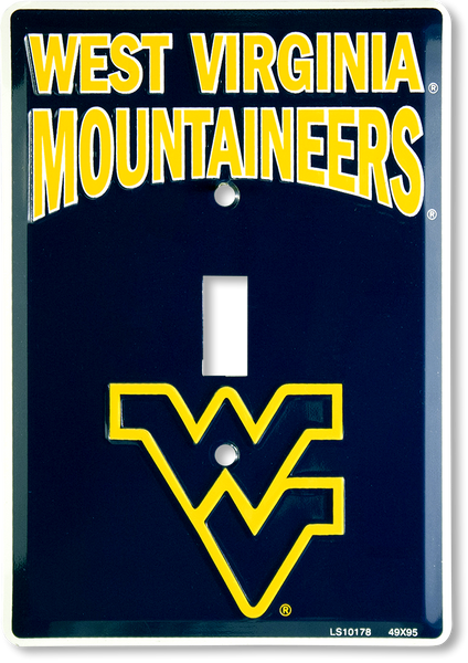 LS10178 - West Virginia Mountaineers Light Switch