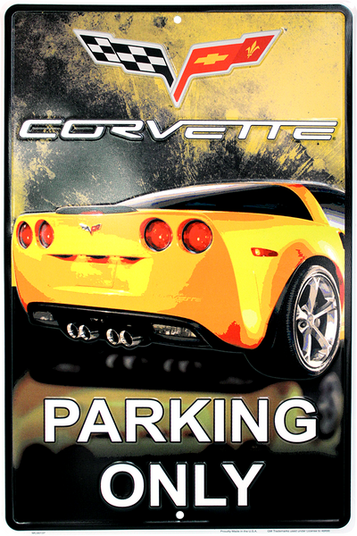 MC30137 - Corvette Parking Only