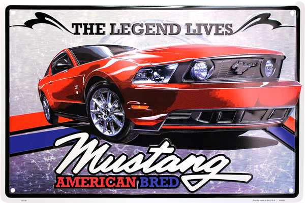 MC30138 - The Legend Lives Ford Mustang