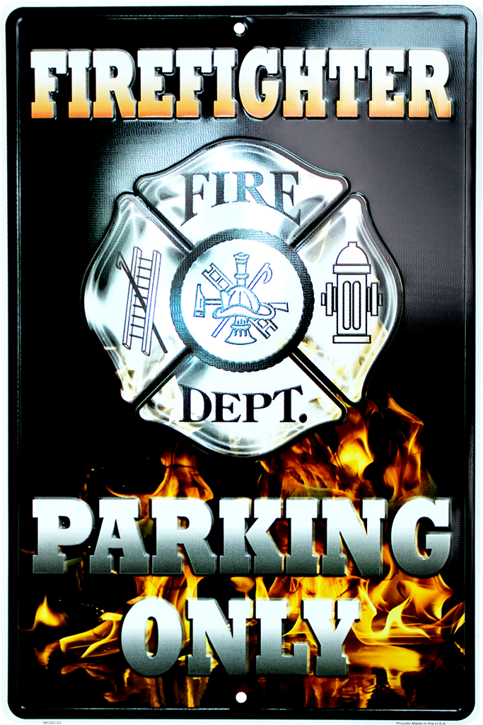 MC30143 - Firefighter Parking Only