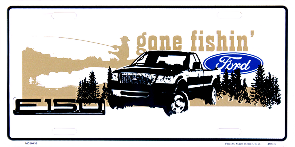 MC50138 - Ford F-150 Gone Fishin'