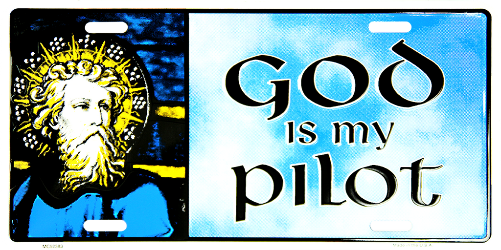 MC52383 - God Is My Pilot