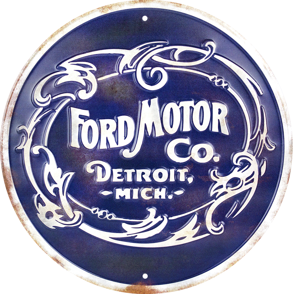MC60120 - Ford Motor Co. Retro Sign