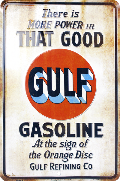 MC80076 - That Good Gulf Gasoline Retro Sign