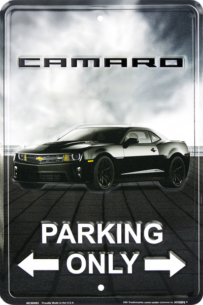 MC80083 - Camaro Small Parking Signs
