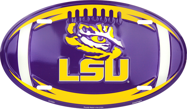 OV70001 - LSU Tigers Football Oval