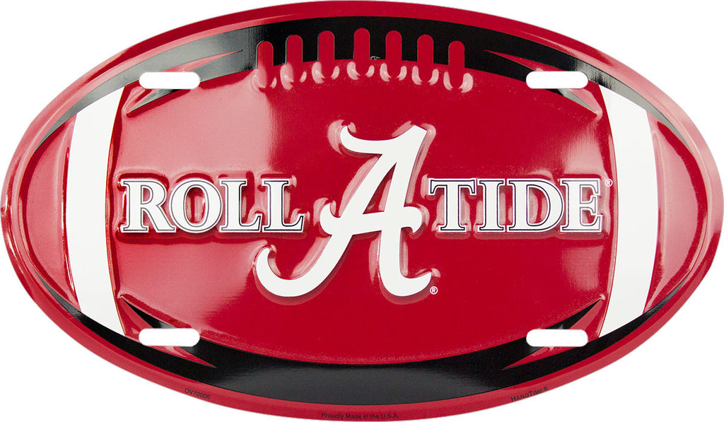 OV70006 - Alabama Crimson Tide Football Oval