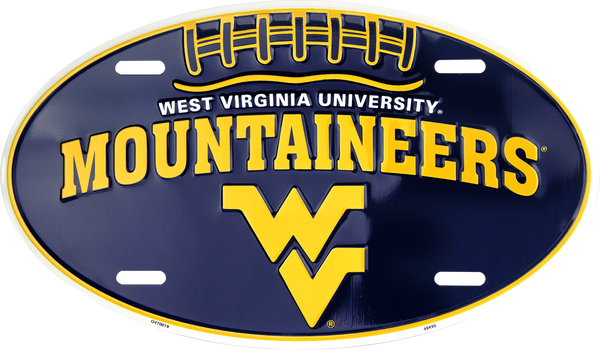 OV70019 - West Virginia Mountaineers Football Oval