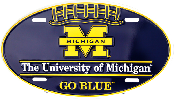 OV70022 - Michigan Wolverines Football Oval