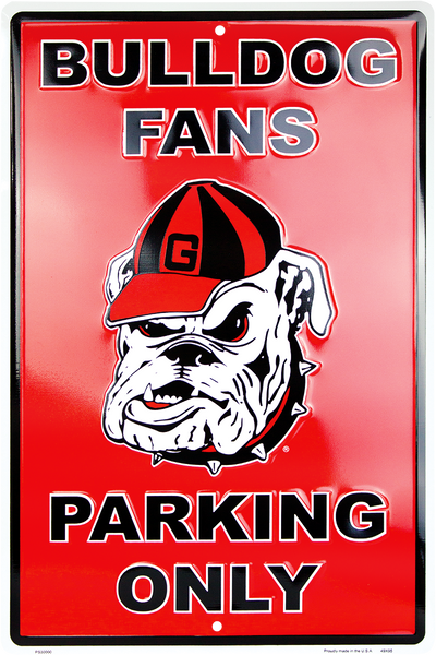 PS30000 - Georgia Bulldog Fans Parking Only