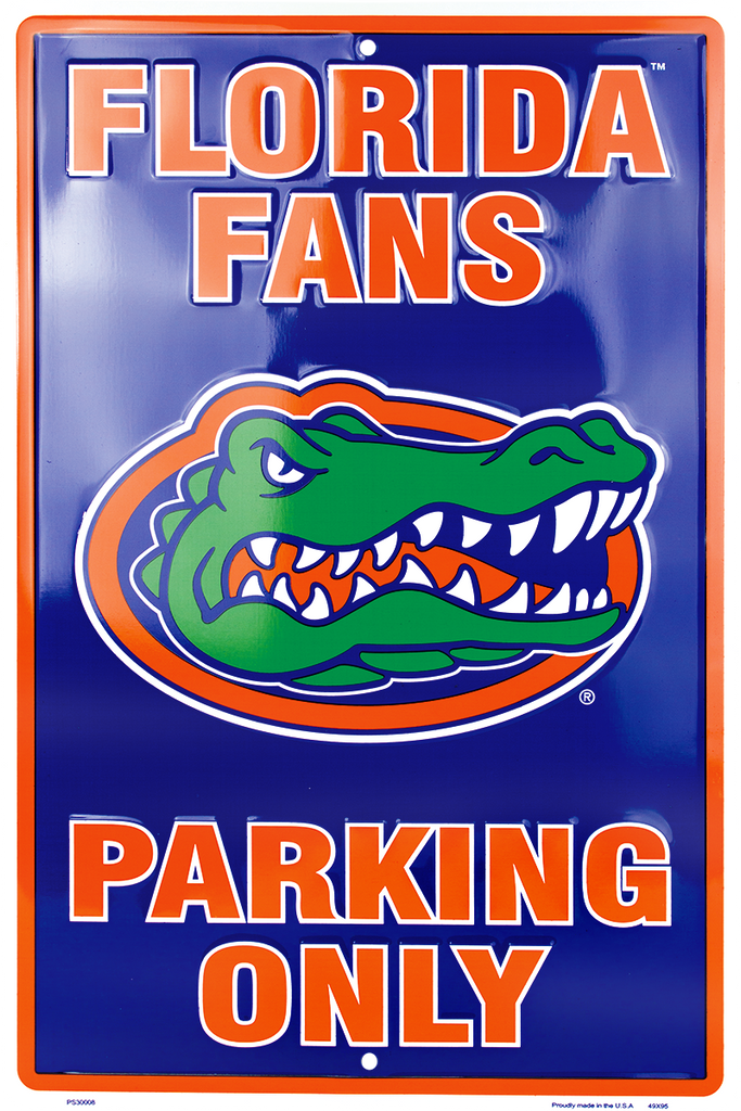 PS30008 - Florida Gators Fans Parking Only