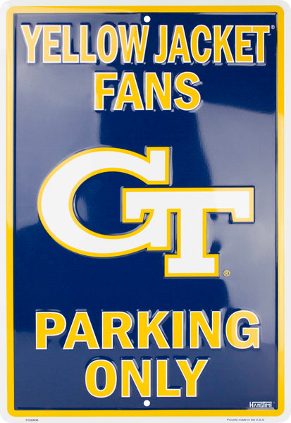 PS30009 - Yellow Jacket Fans Parking Only