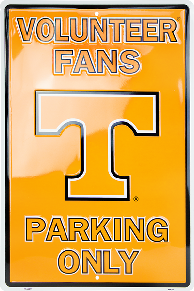 PS30015 - Tennessee Volunteer Fans Parking Only