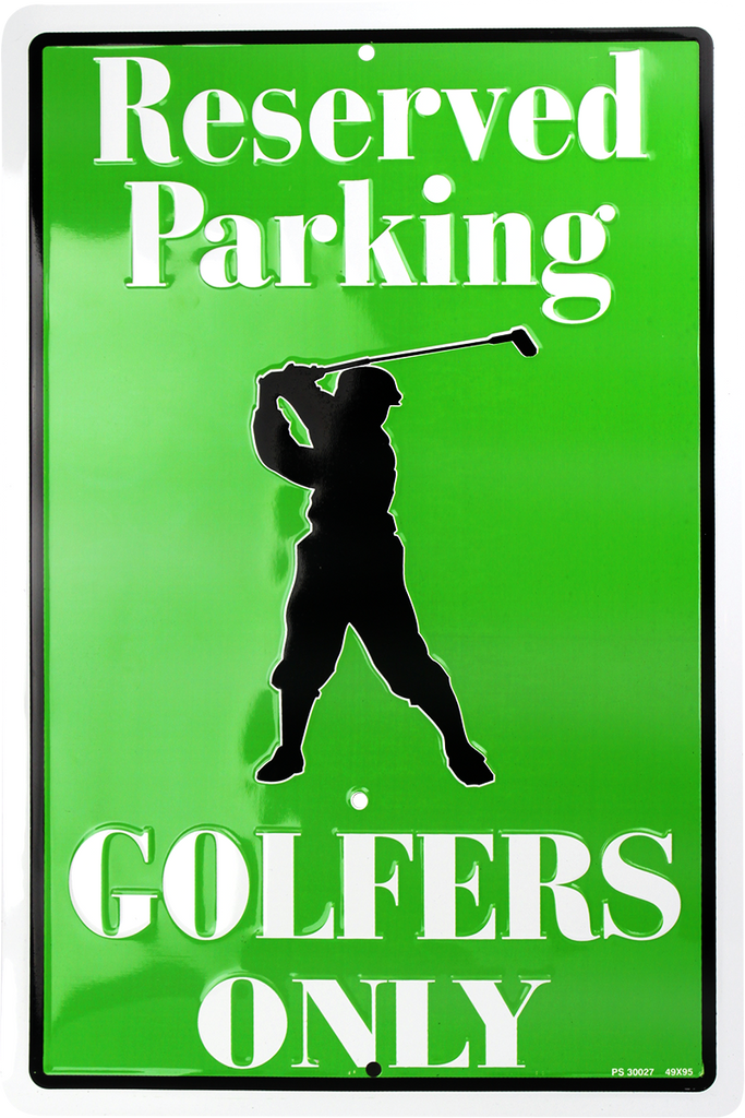 PS30027 - Reserved Parking Golfers Only
