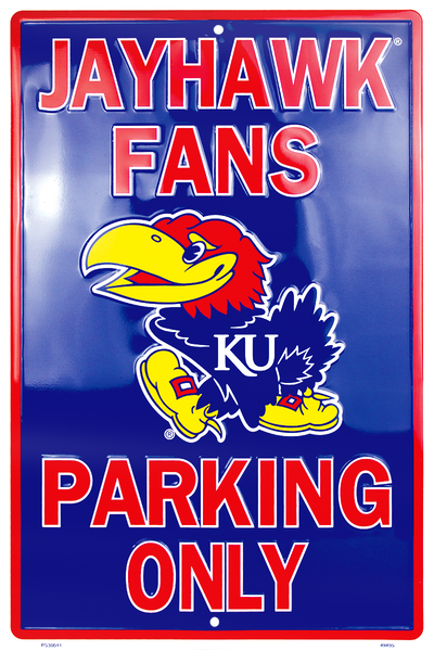 PS30041 - Kansas Jayhawk Fans Parking Only