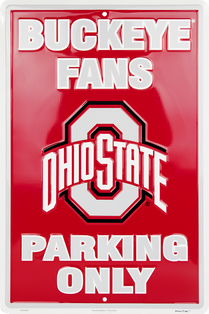 PS30045 - Ohio State Buckeye Fans Parking Only