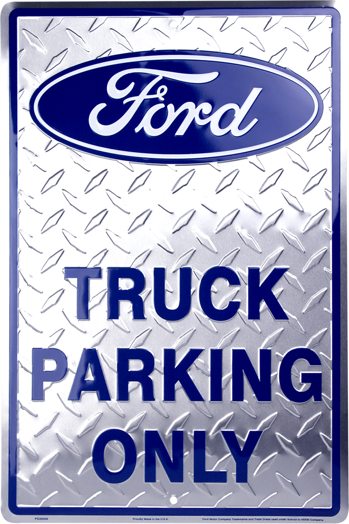 PS30059 - Ford Truck Parking Only