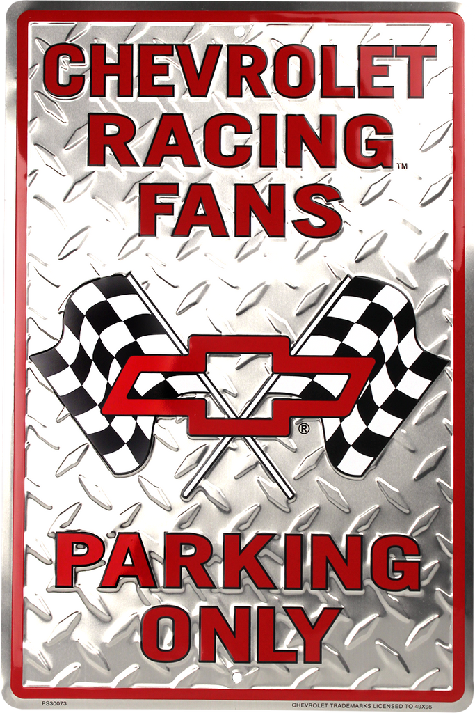 PS30073 - Chevrolet Racing Fans Parking Only