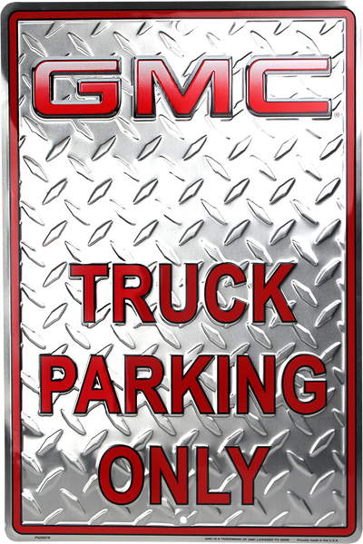PS30076 - GMC Truck Parking Only