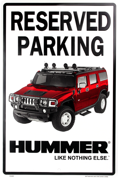 PS30087 - Reserved Parking Hummer™