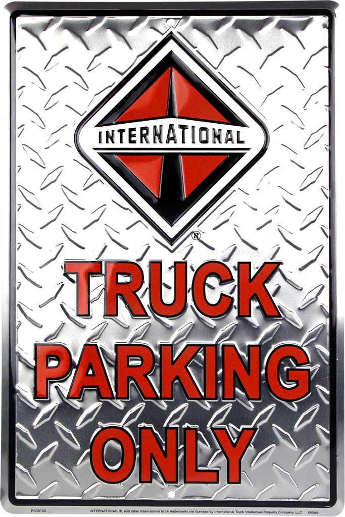 PS30100 - International Truck Parking Only