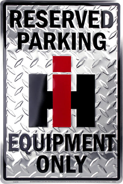 PS30104 - Reserved Parking IH Equipment Only