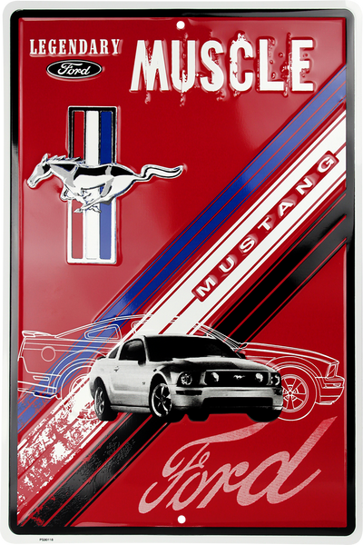 PS30118 - Ford Mustang, Legendary Muscle