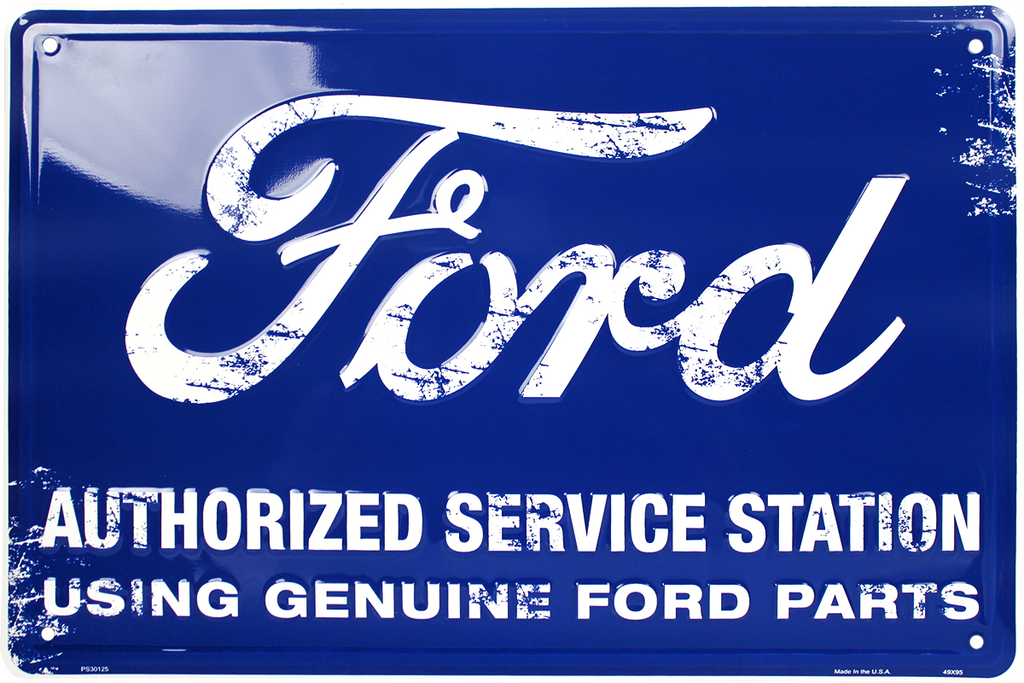 PS30125 - Ford Authorized Service Station