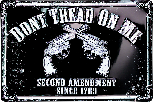PS30141 - Don't Tread On Me/Second Amendment