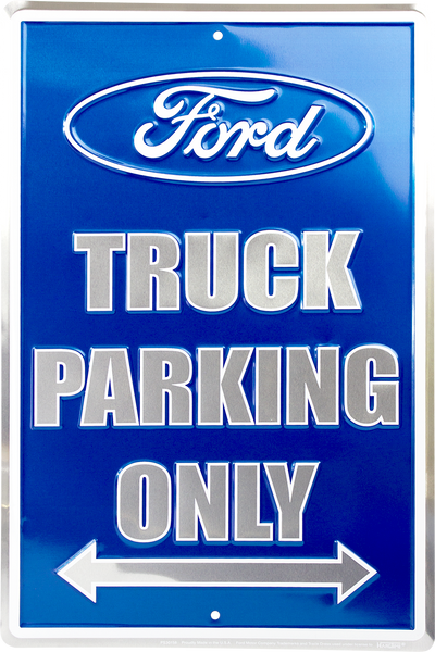 PS30158 - Ford Truck Parking Only