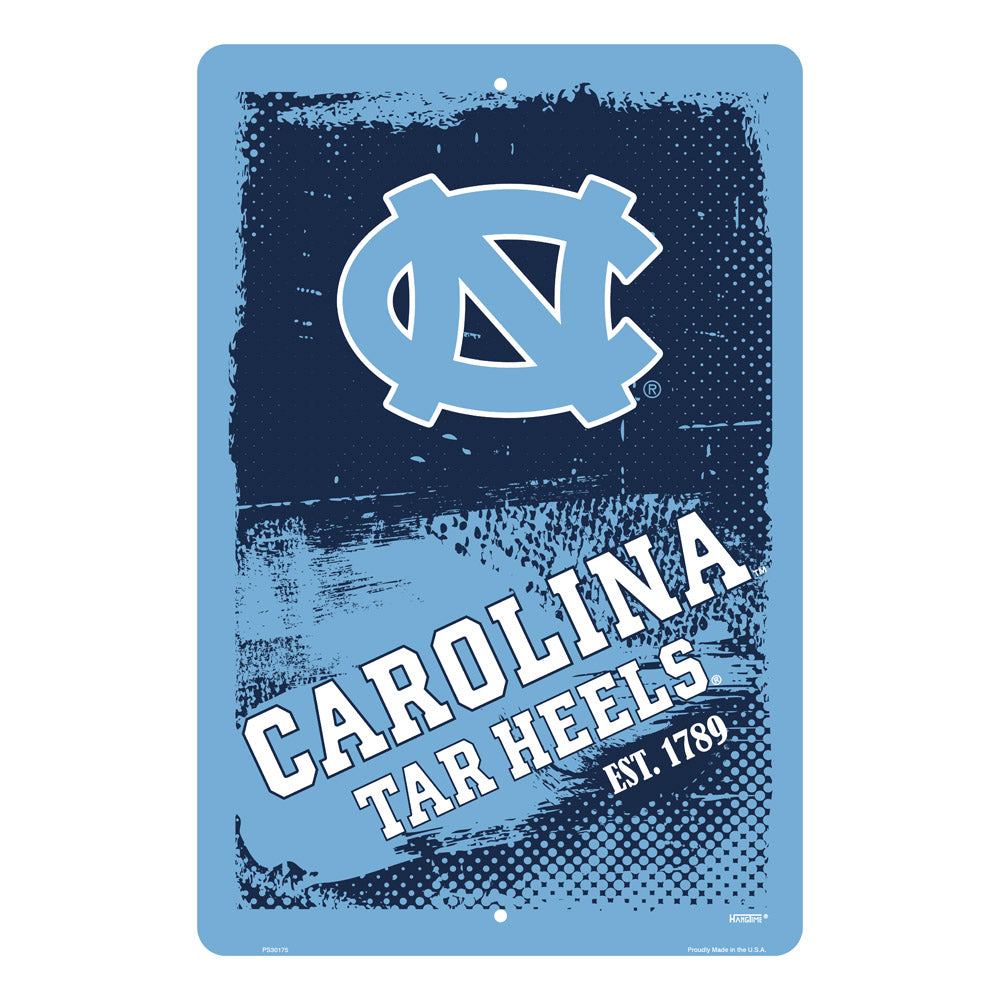 PS30175-  Carolina Tar Heels Grunge Sign