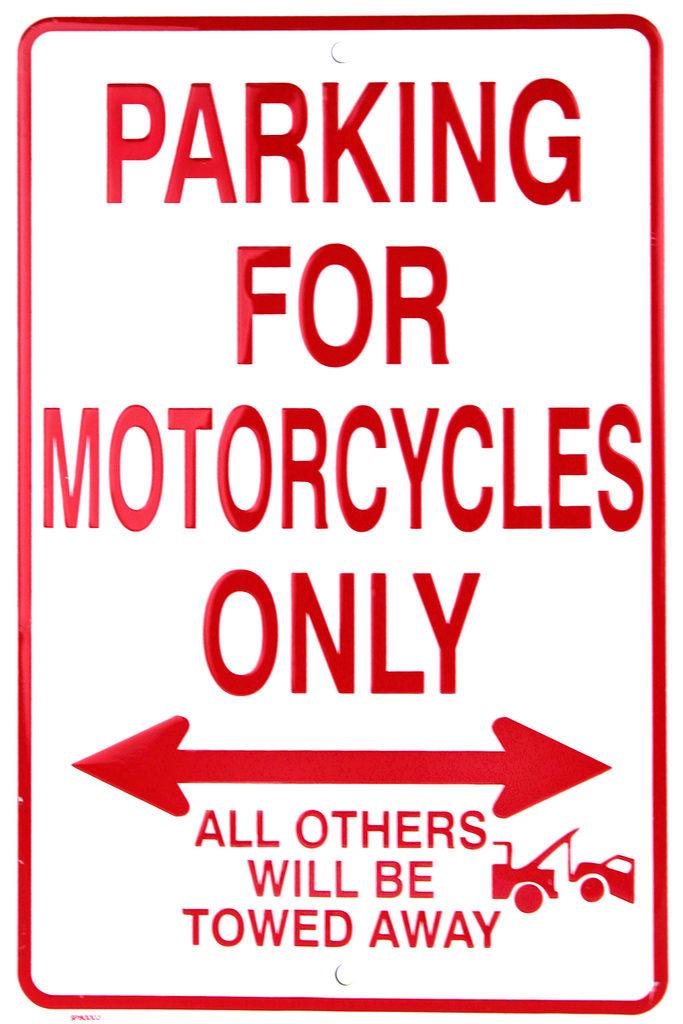 SP80003 - Parking for Motorcycles Only