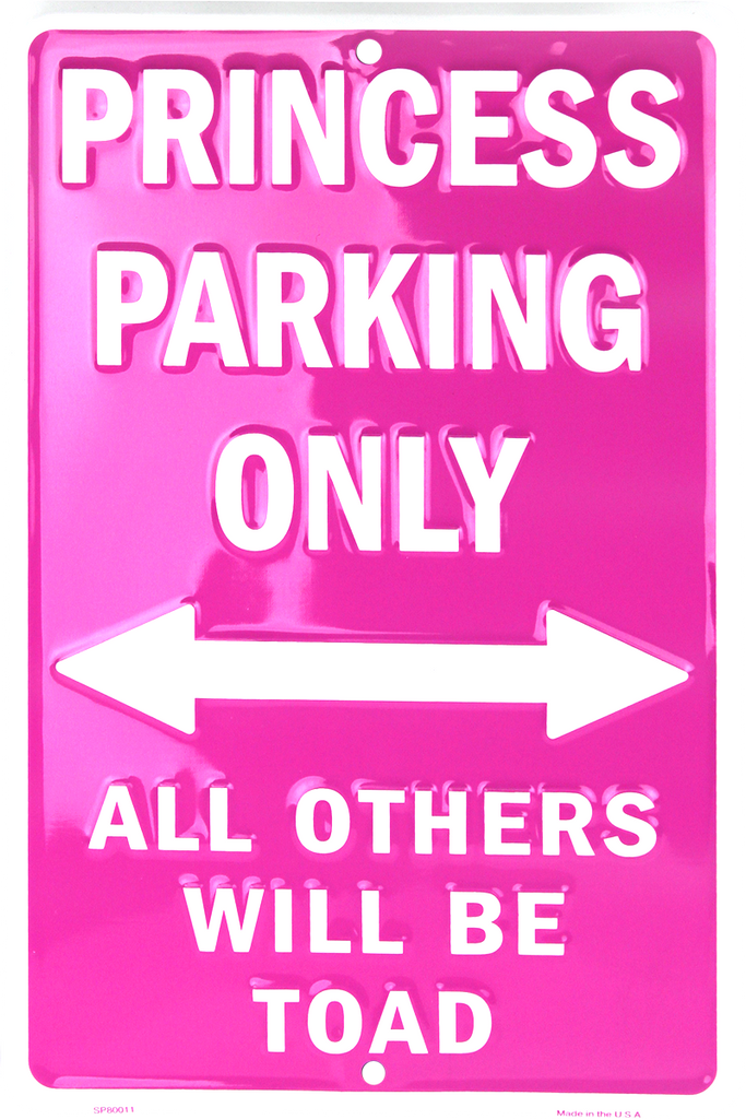 SP80011 - Princess Parking Only