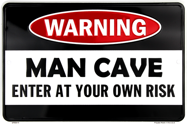 SP80019 - Warning Man Cave