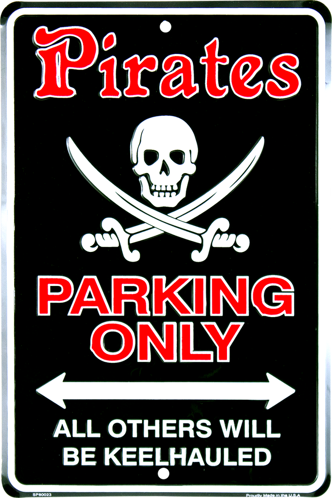 SP80023 - Pirates Parking Only