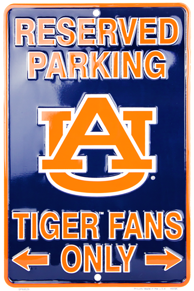 SP80029 - Reserved Parking Tiger Fans Only