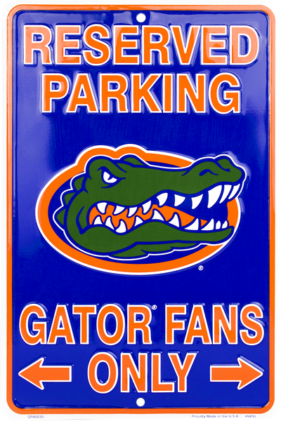 SP80030 - Reserved Parking Gator Fans Only