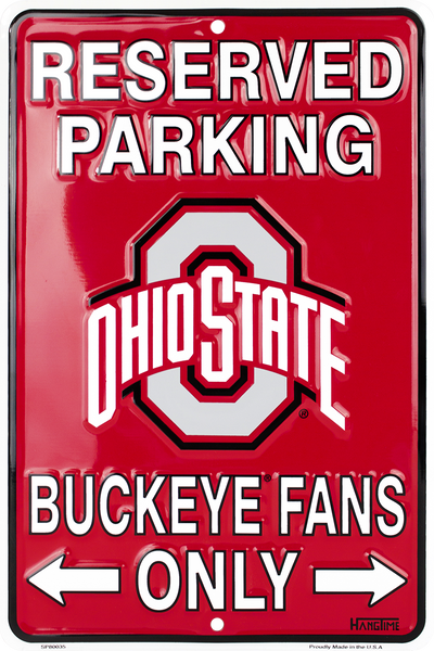 SP80035 - Reserved Parking Buckeye Fans Only