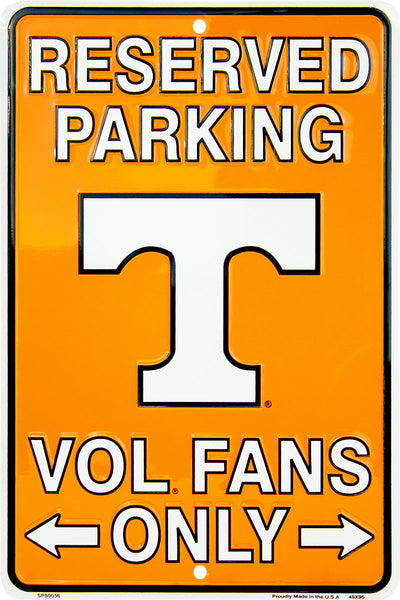 SP80036 - Reserved Parking Vol Fans Only