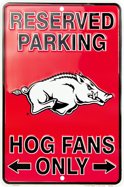 SP80039 - Reserved Parking Hog Fans Only