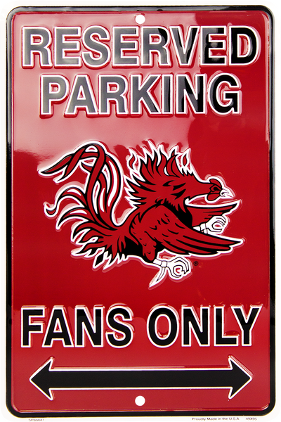 SP80041 - Reserved Parking Gamecocks Fans Only