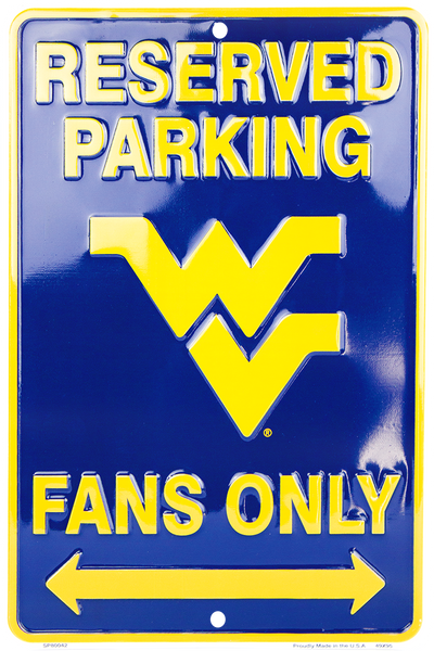 SP80042 - Reserved Parking Mountaineer Fans Only