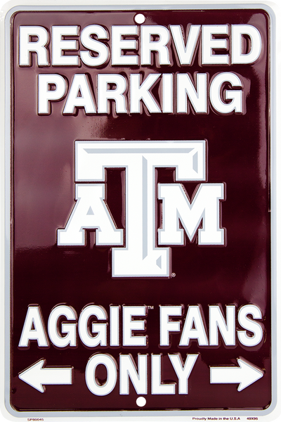 SP80045 - Reserved Parking Aggie Fans Only